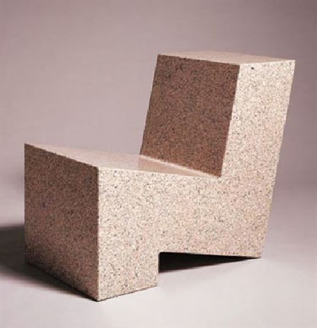 one part chair by scott burton
