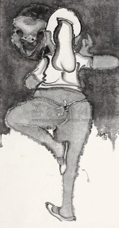 舞者的镜像 dancer by zhang zhengmin