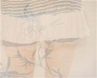 之间 镜框 设色绢本 by xu hualing