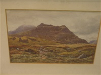 mountain landscape by james alfred aitken