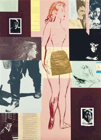 red dancer of moscow and ezra pound ii 2 works by ronald brooks kitaj
