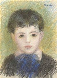 portrait d'un jeune garçon by pierre-auguste renoir