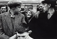 may day, parade, gorki street, moscow 1961 by william klein