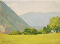 paesaggio by leonardo dudreville
