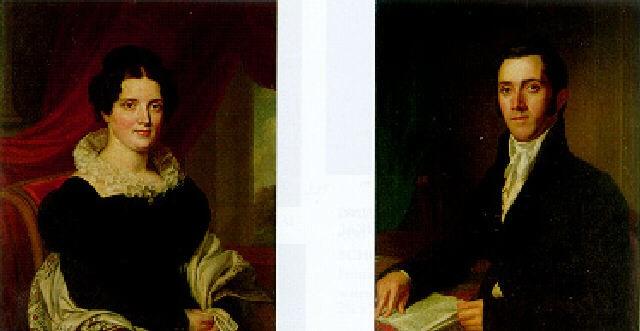 Portrait Of Dr. Valentine Mott By John Wesley Jarvis