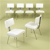 dining chairs (set of 6) by richard neutra