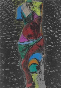 nine view of winter (3) by jim dine