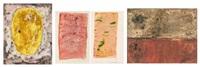 sans titre (4 works) by rené guiette