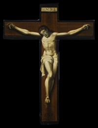 cristo crucificado by jose de alzibar