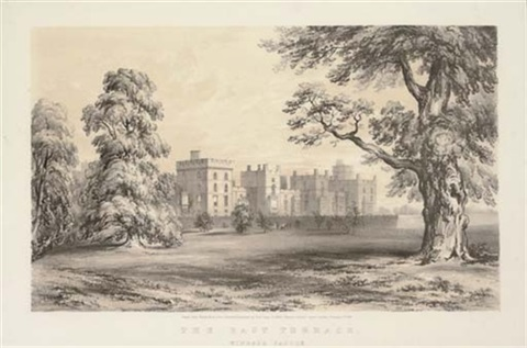 picturesque views of windsor castle and the surrounding scenery 6 others 7 works by paul gauci