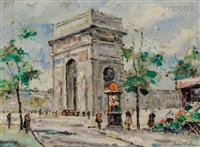 arc de triomphe by andre picot