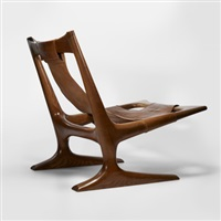sling lounge chair by j. muckey