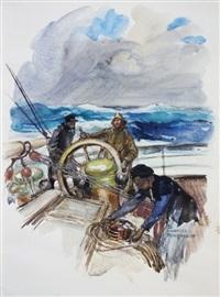 les mutinés de l'elseneur (bk by j. london w/1 work) by dominique charles fouqueray