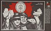 das blutige markenzeichen der cia (portfolio of 12 w/colophon) by victor koretsky