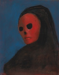 la masque de la mort rouge by leonor fini