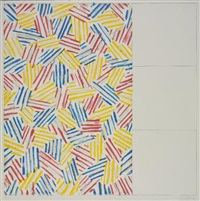 #1 (after untitled 1975) by jasper johns