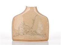 vase by hiroe swen