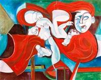 vierge à l'enfant by encaoua