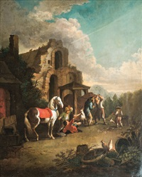 at the blacksmith by anonymous-flemish (17)