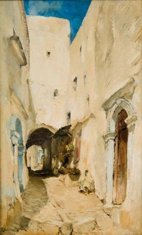 rue de mogador maroc by etienne philippe martin
