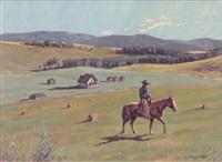 deserted farm by richard audley freeman