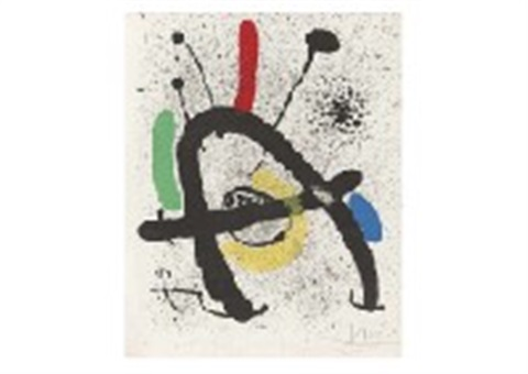 from cahier dombres by joan miró