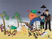 horror story - beach by xu maomao