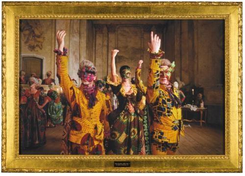 un ballo in maschera vii by yinka shonibare mbe