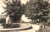 passeggiata a villa borghese by pietro aldi