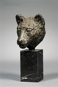 brutus, portrait of a panther by madeleine f. park