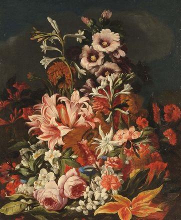 natura morta con fiori by abraham brueghel