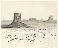 desert monuments, arizona by george elbert burr