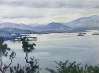 otaru port by hakutei ishii