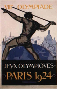 paris 1924 olympics by posters: sports - olympics