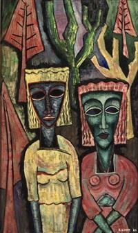 two women by reimond kimpe