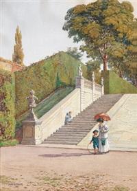 im belvederegarten by julius wachsmann