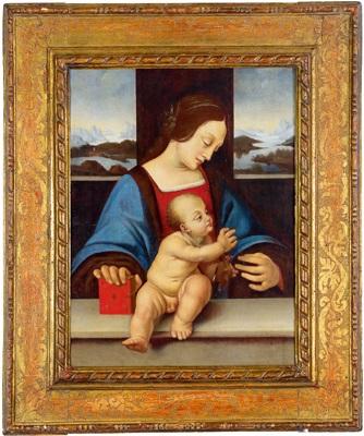 madonna mit kind by leonardo da vinci
