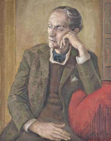 portrait of lord david cecil ch by cecil beaton