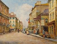 rue du seine - paris by dennis ainsley