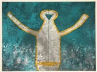 figura de hombre en gris by rufino tamayo