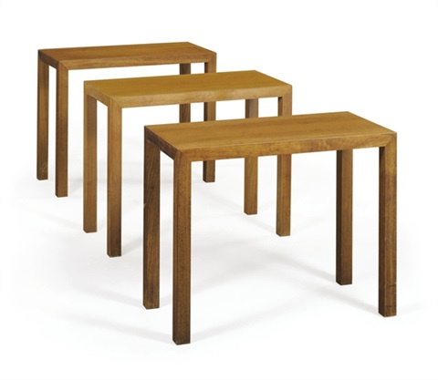 side tables set of 3 by philip cortelyou johnson