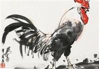 雄鸡 by huang zhou