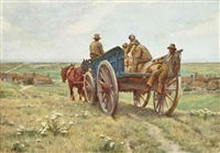 the wagoners returning home by vivian smith