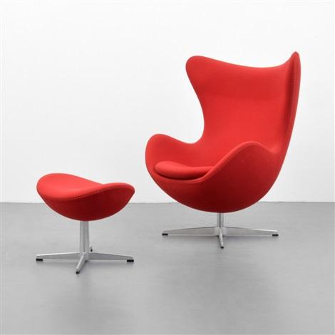 Beau Egg Chair U0026 Ottoman By Arne Jacobsen