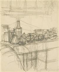 atelier by alberto giacometti