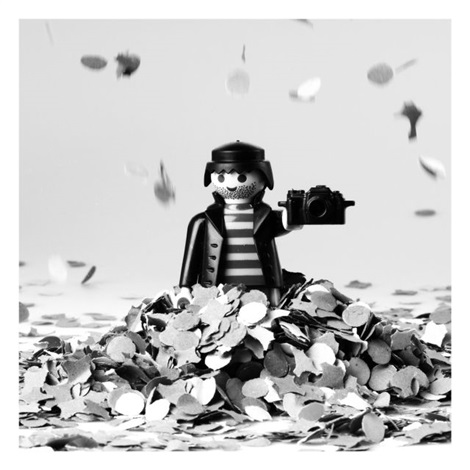 playmobil paparazzi by bruce meritte
