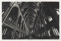 study for notre dame/montreal by robert longo