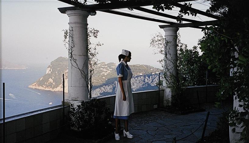 Pergola Villa San Michele Capri By Dana Sederowsky On Artnet