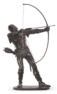 medieval archer by pierre nicholas tourgueneff