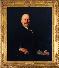 portrait of eugene l. ellison by hugh henry breckenridge